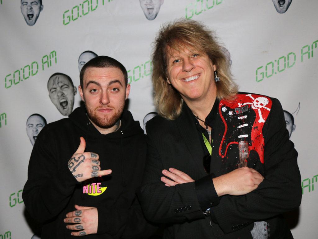 Starr rocks the red carpet vip events rockstarr designer mac miller vip meet greet m4hsunfo