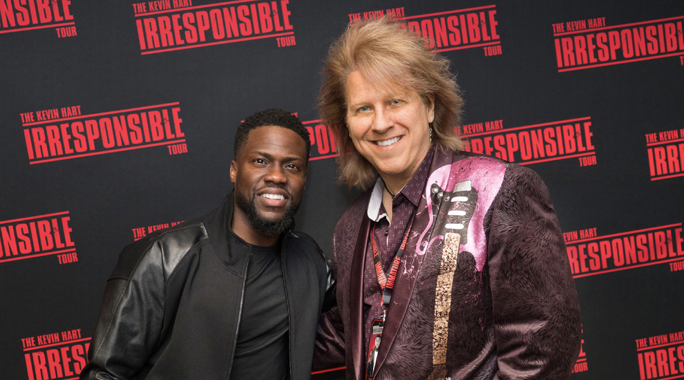 Behind-The-Scenes Working With Kevin Hart